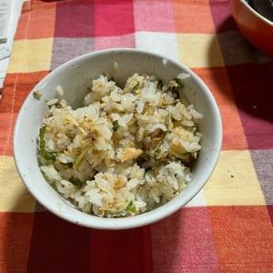 さば缶で簡単!鯖と大葉の混ぜご飯