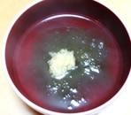 芯からあったまる、とろろ昆布生姜汁☆