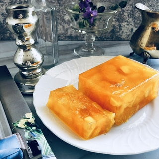 オレンジとマンゴーのテリーヌ