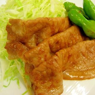 簡単!豚肉のしょうが焼き=定食屋さんより美味しい=