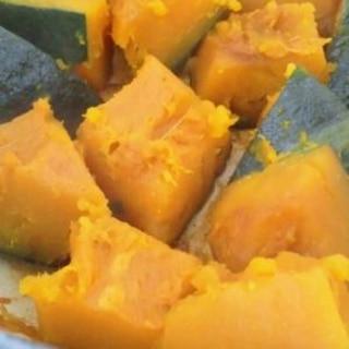 ル・クルーゼでホコホコ♪かぼちゃの煮物