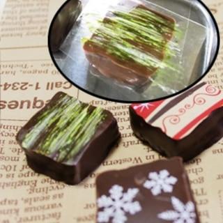 チョコレートの転写シート