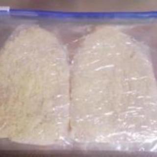 豚カツ用の冷凍保存法