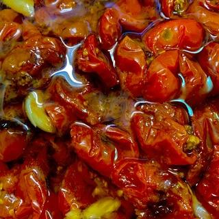ミニトマトオリーブオイル漬け