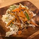 白菜とツナのゴママヨ和え