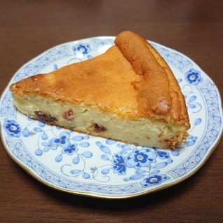 レーズン入りチーズケーキ