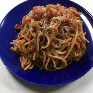 ★ほったらかしのトマトパスタ★