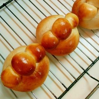 30分で完成♪成形しやすい♡お子さまパン