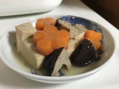 高野豆腐のくずとじ煮