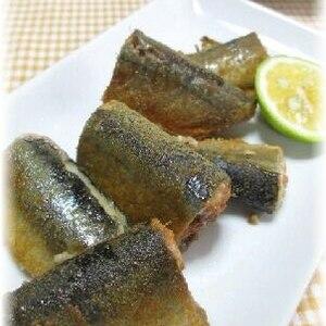 ご飯がススム~~秋刀魚の唐揚げ♪