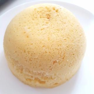 ホットケーキミックスで♪レンジ蒸しパン