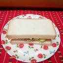缶詰で簡単サンドイッチ