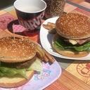 お家でハンバーガー