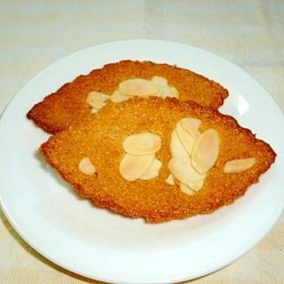 サックリ美味しい アーモンドケーキ♪