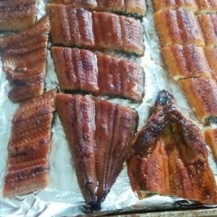 カリッと美味しいウナギの焼き方