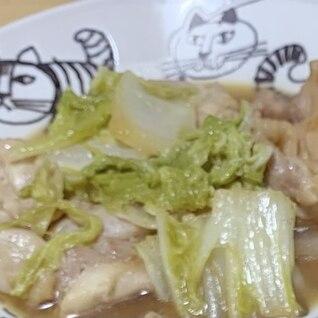 白菜と鶏肉のお鍋風