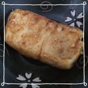 甘辛しょうゆで☆絹ごし豆腐のステーキ