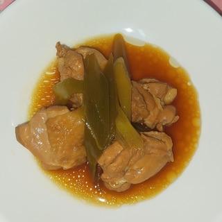 鶏もも肉のポン酢でサッパリ煮