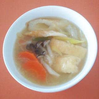 おでんの素で簡単☆野菜スープ