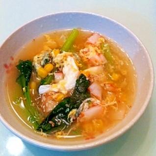 栄養いっぱい 妊婦レシピさらっとはるさめスープ