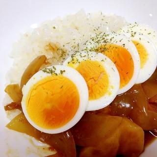 子どもが喜ぶ☆ゆで卵カレー