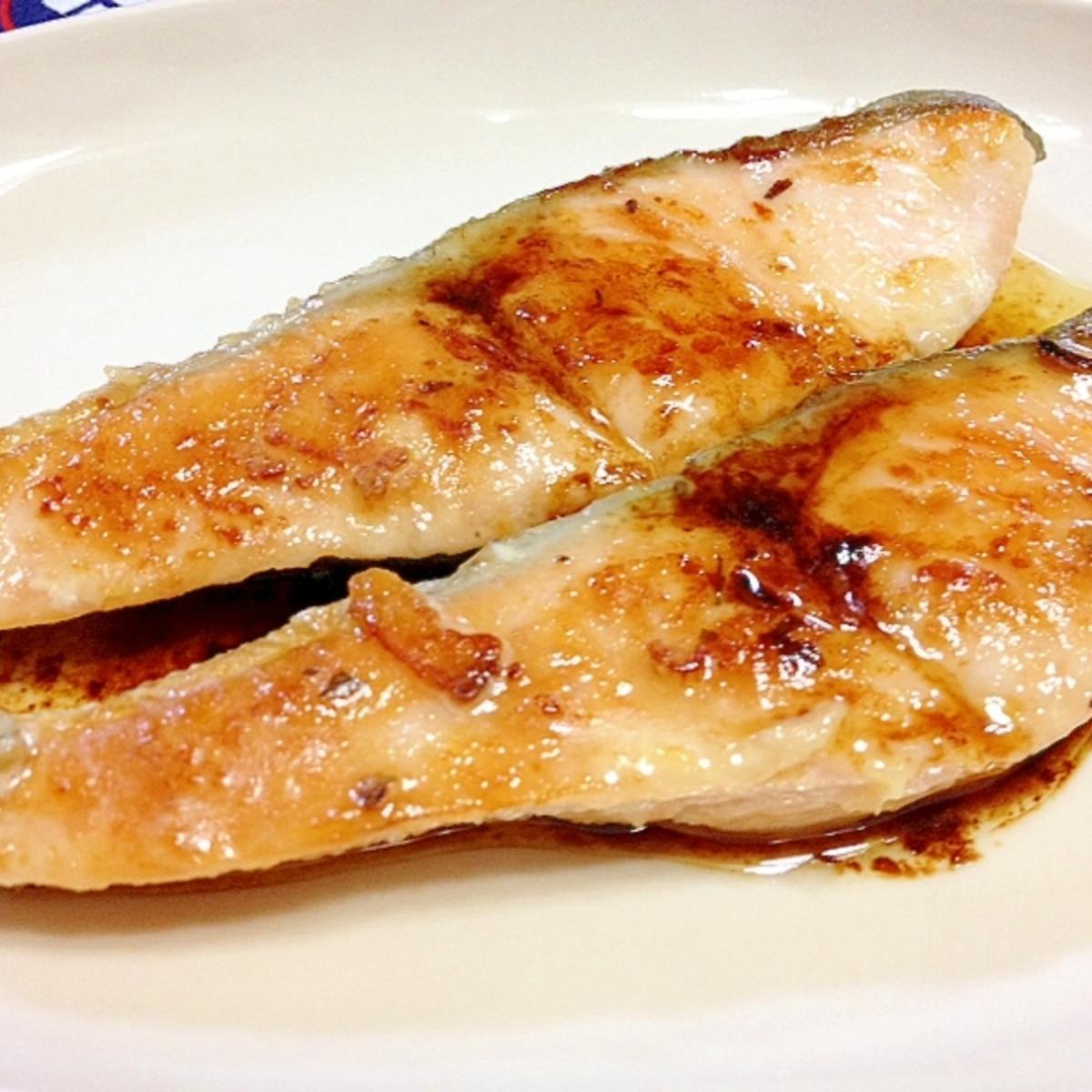 バター 焼き 鮭