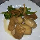 里芋と油揚げの煮物