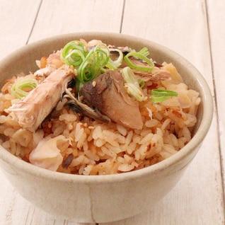 米良糸巻き大根切り干しとサバの炊き込みご飯