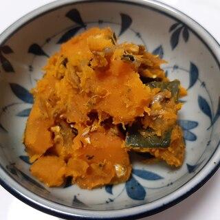 いりこの出汁が効いた簡単かぼちゃ煮