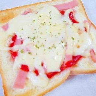 なんちゃってピザトースト