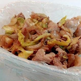 豚肉と春野菜炒め
