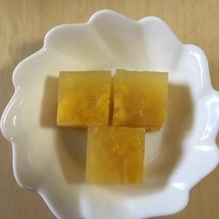 砂糖不使用!冷凍マンゴーで作る寒天デザート