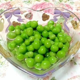 えんどう豆の甘煮♡