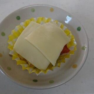 お弁当用 ズッキーニとトマトのグラタン風