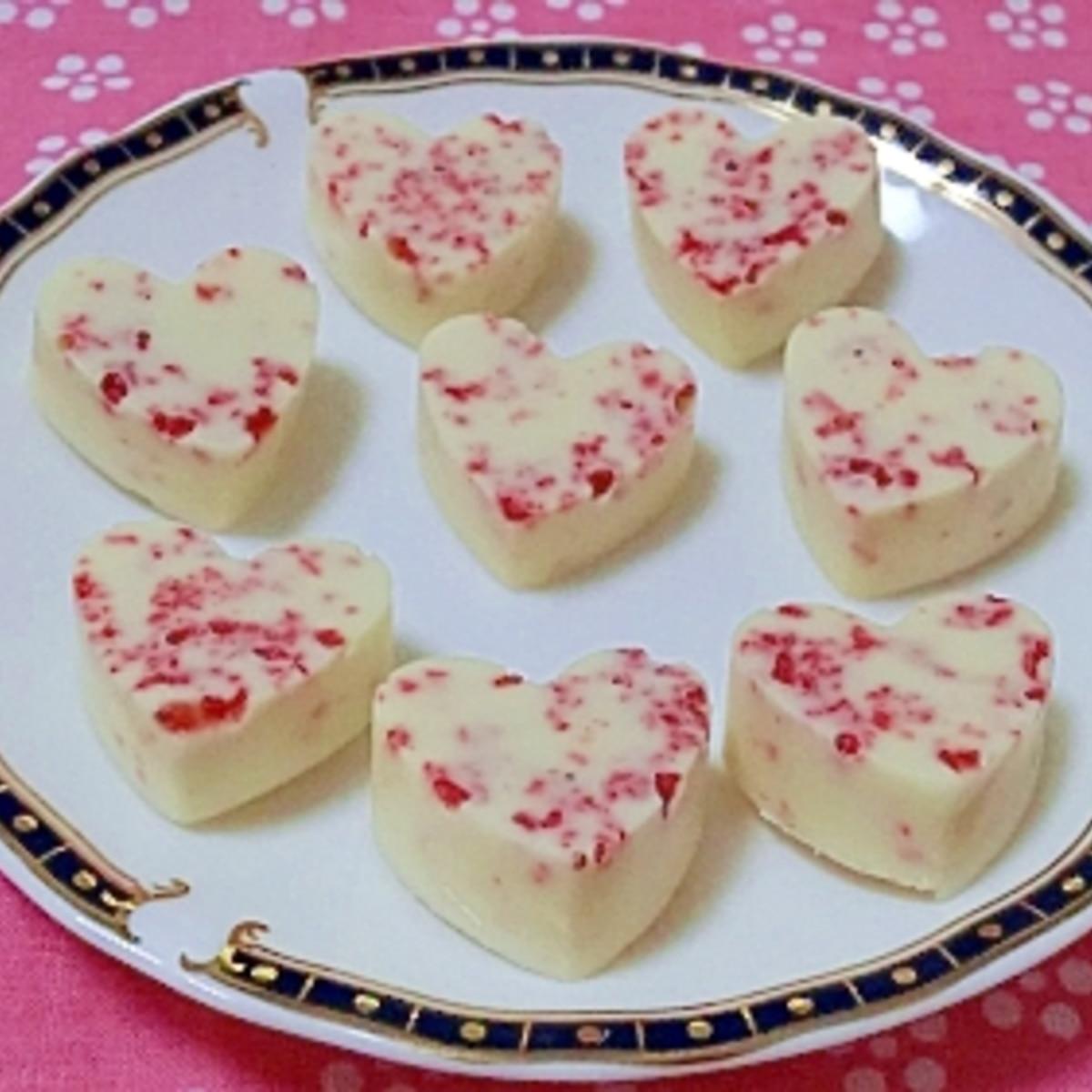 ホワイト チョコ バレンタイン