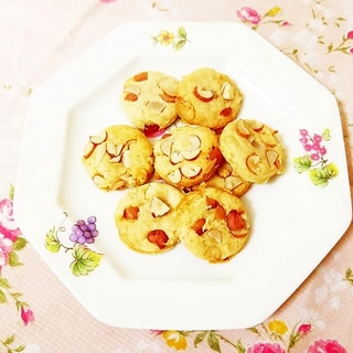 ピーナツ風味♪米粉のサクサククッキー