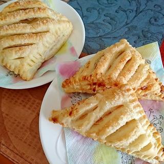 ラズベリー&クリームチーズのパイ包み