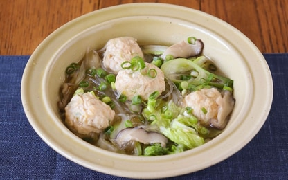 食べごたえ◎な鶏団子のポカポカ栄養満点スープ【頑張りすぎない家族ごはん#16】