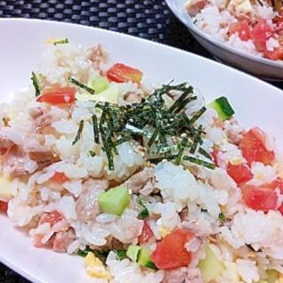 夏野菜のちらし寿司