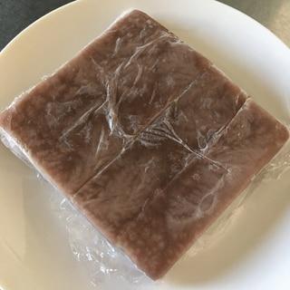 水ようかんの冷凍保存方法
