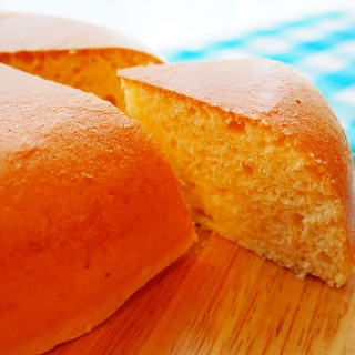 炊飯器でスフレパンケーキ