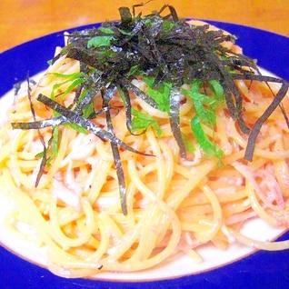☆お家でひとりランチ☆たらこスパゲッティ