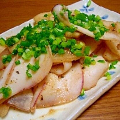 イカと大根の味噌炒め