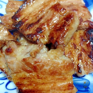 豚バラグルメソース焼き