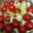 ミニトマトとタコのマリネ