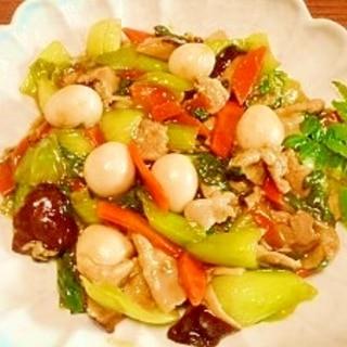 青梗菜と豚肉☆炒め