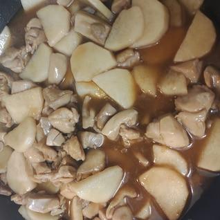 鶏もも肉と長芋の照り煮