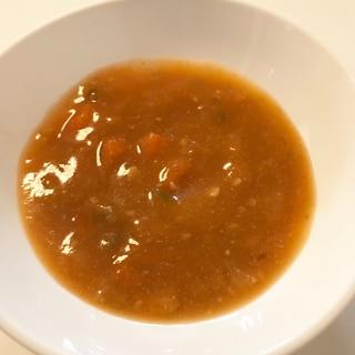 【離乳食】野菜たっぷりトマトシチュー