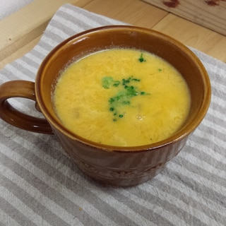 【大量消費型レシピ】かぼちゃのポタスープ