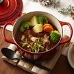ホーロー鍋で作る肉のおかず